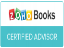 Zoho books certified badge